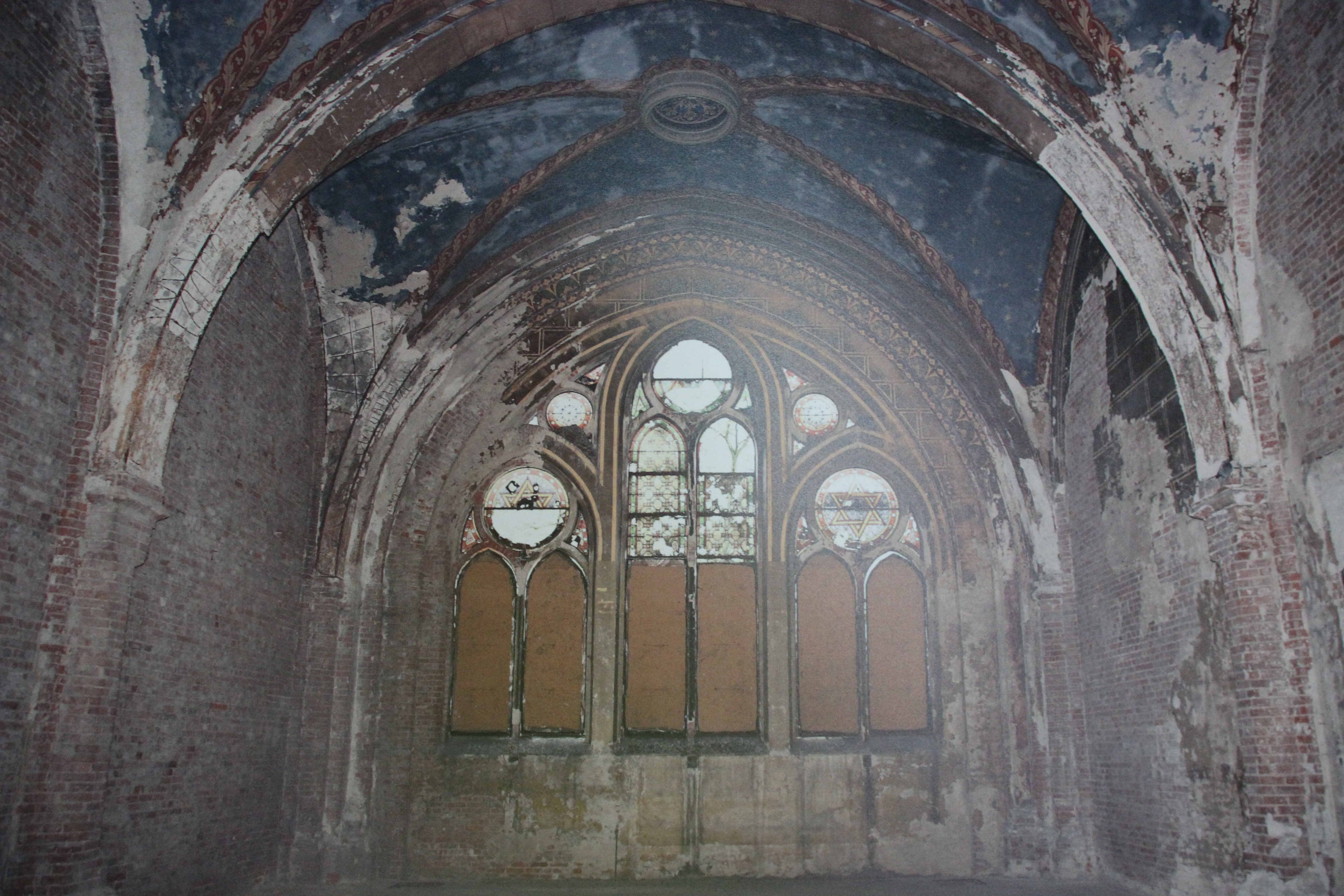 Sala przed renowacją