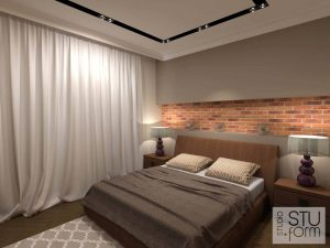 sypialnia w beżach