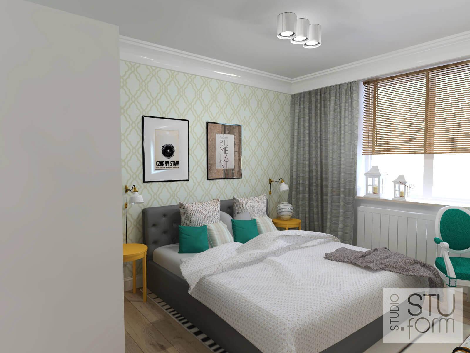pomysł na aranżację sypialni
