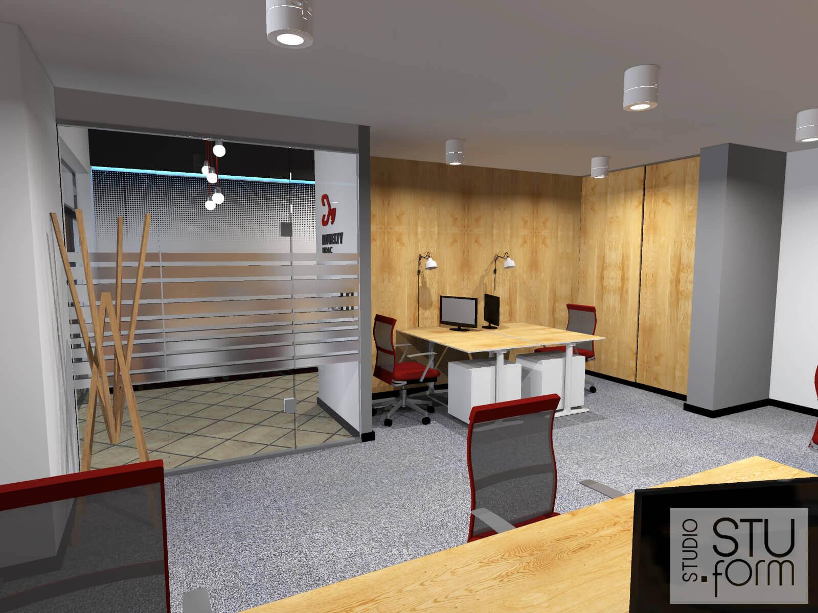 aranżacja biura