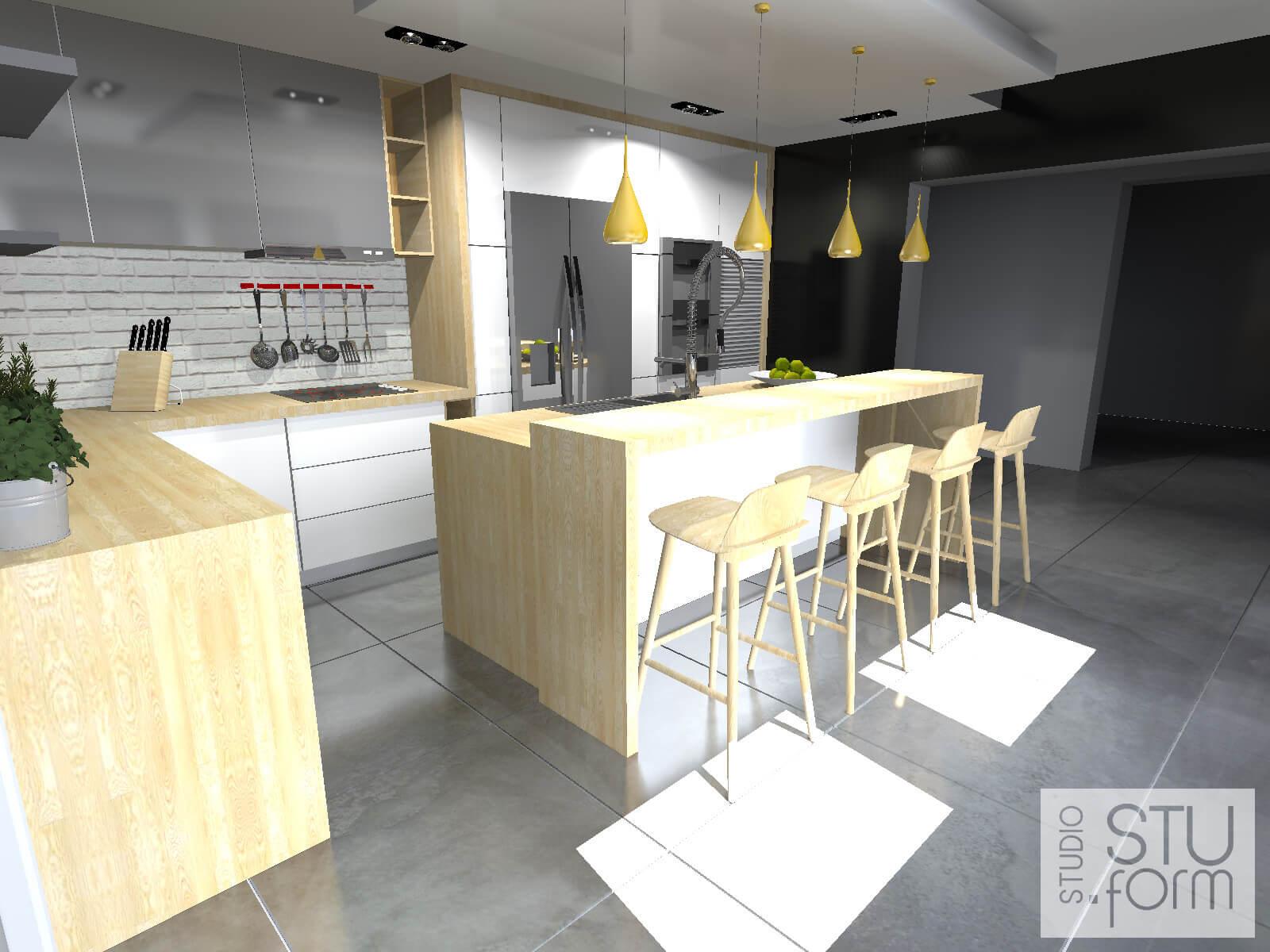 kuchnia w nowoczesny stylu