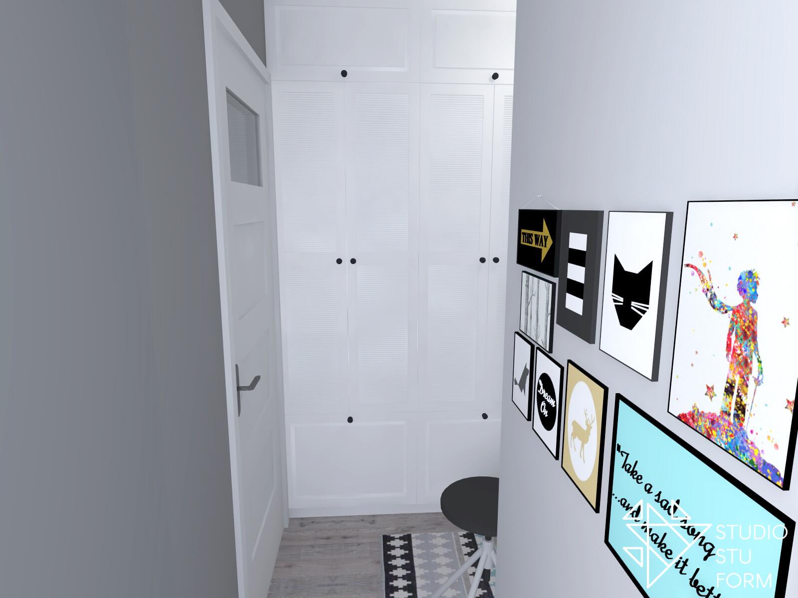 urządzanie korytarza
