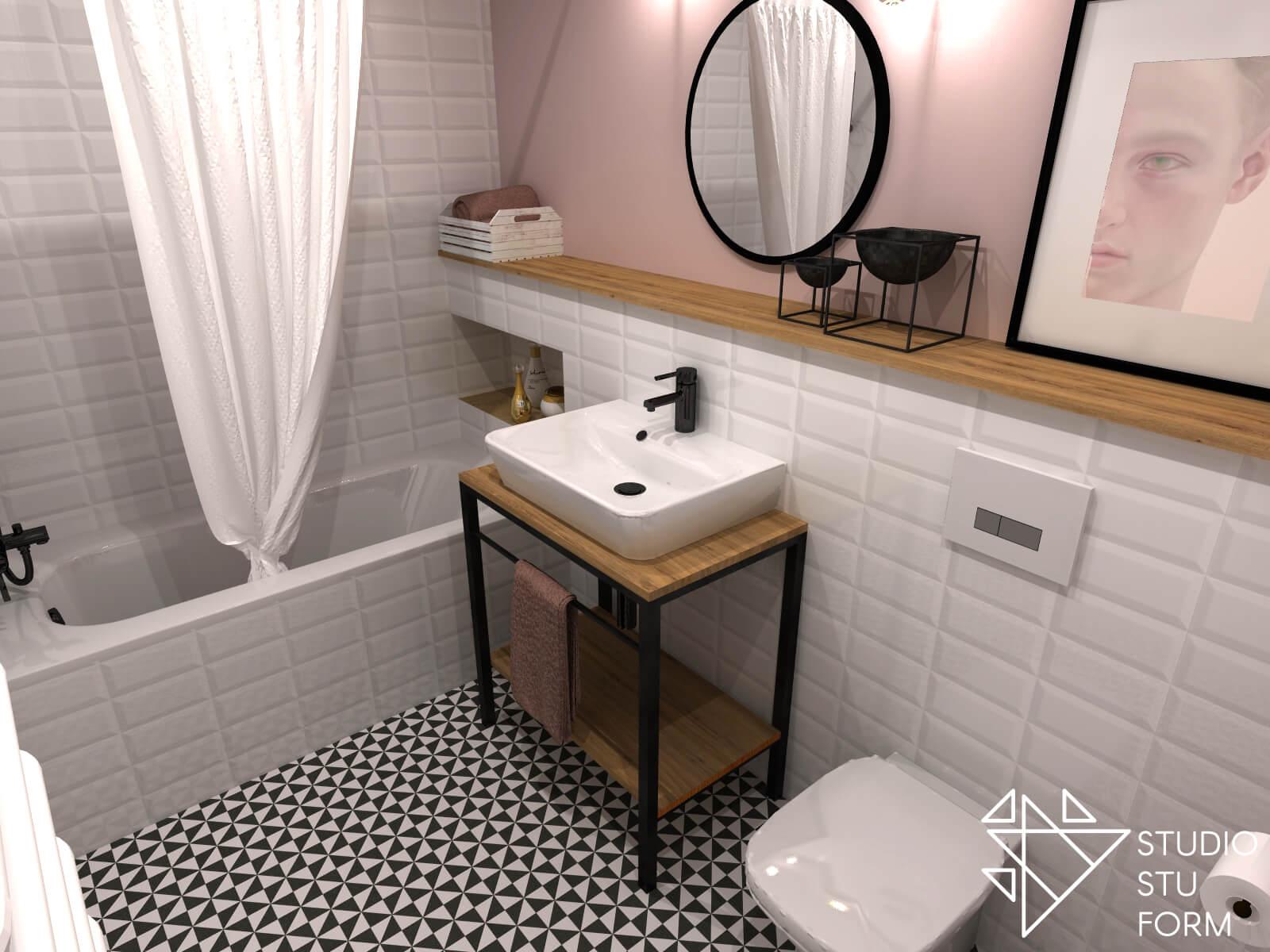 nowoczesna łazienka