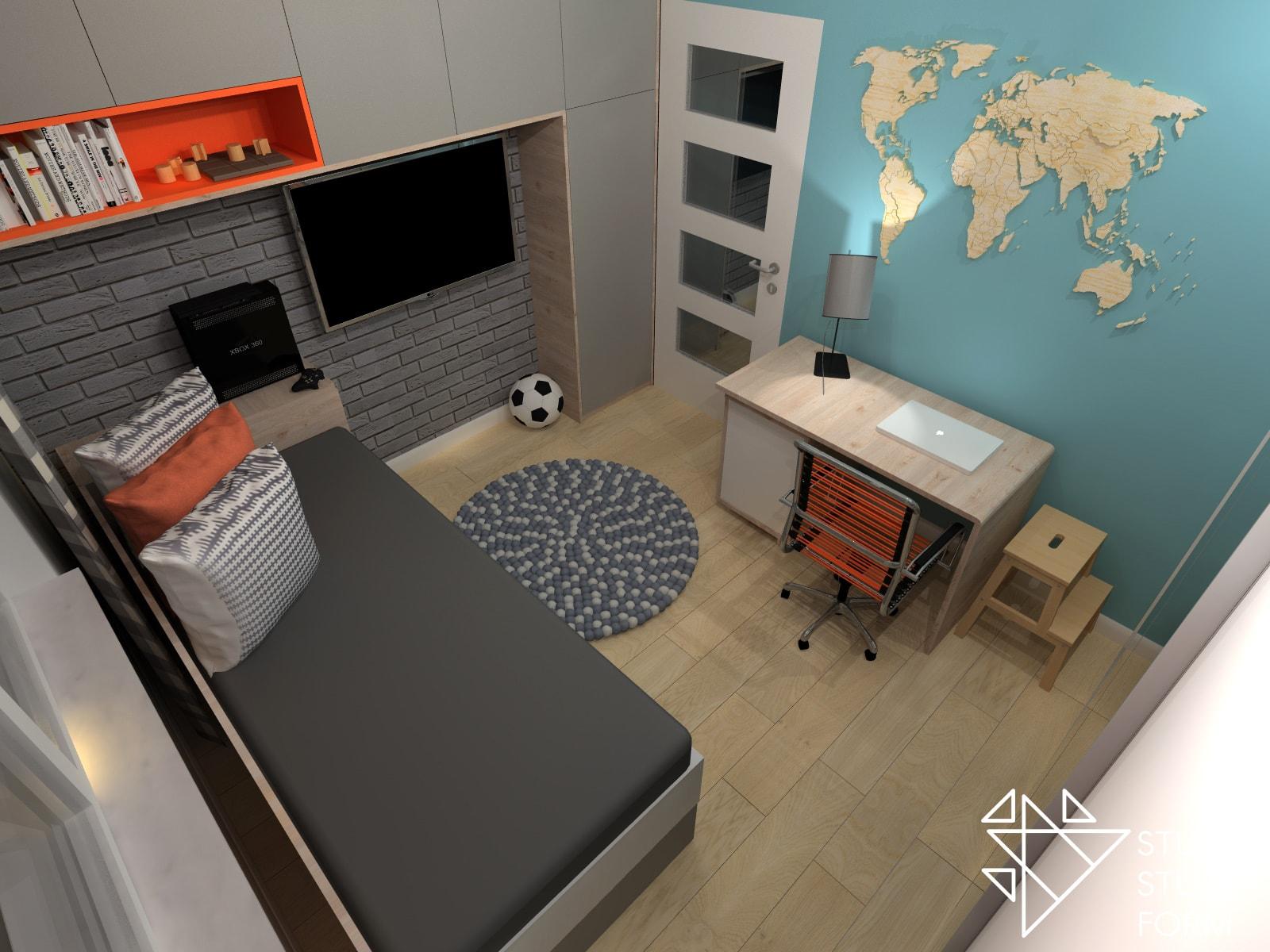 Mały pokój dla chłopaka