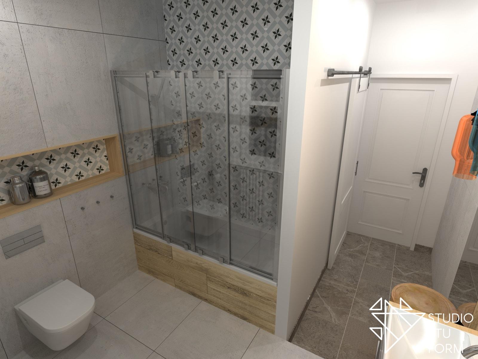 Nietypowa łazienka