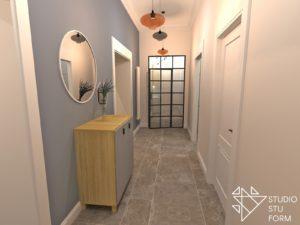 Pomysł na korytarz