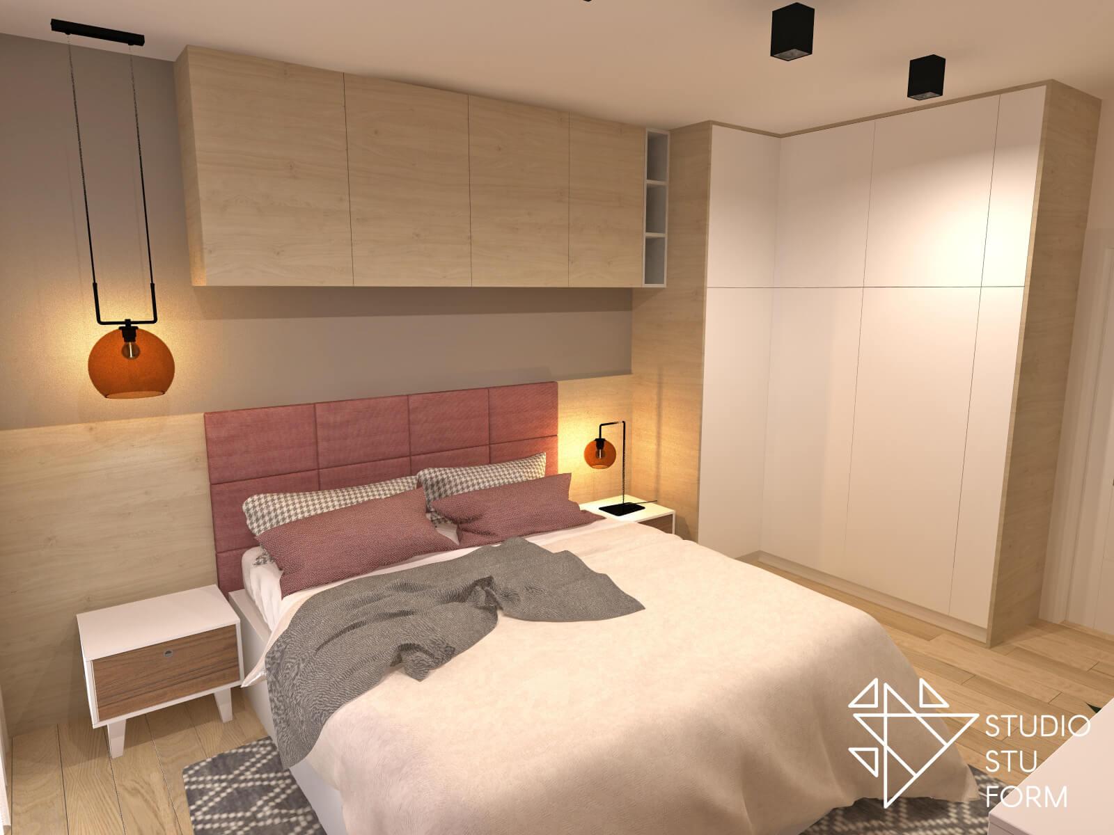 Projekt dużej sypialni
