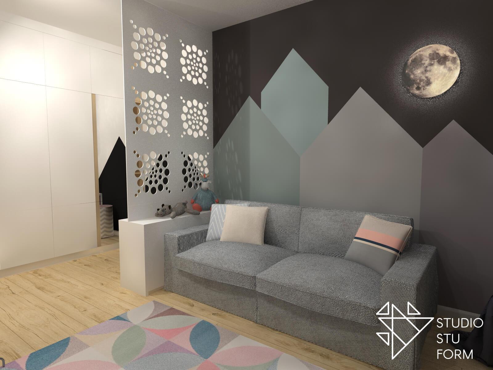 Sofa w pokoju
