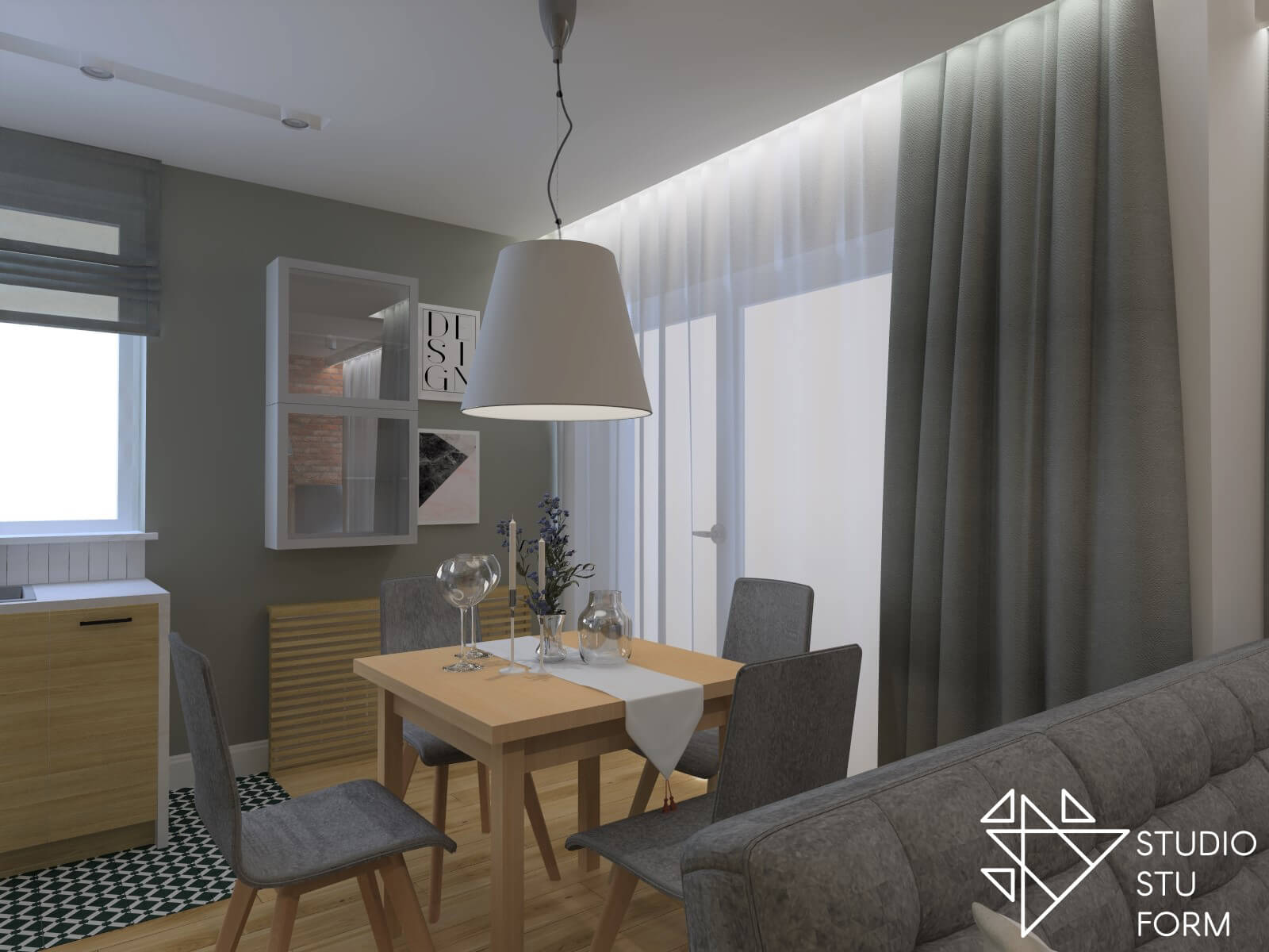 Jadalnia w mieszkaniu