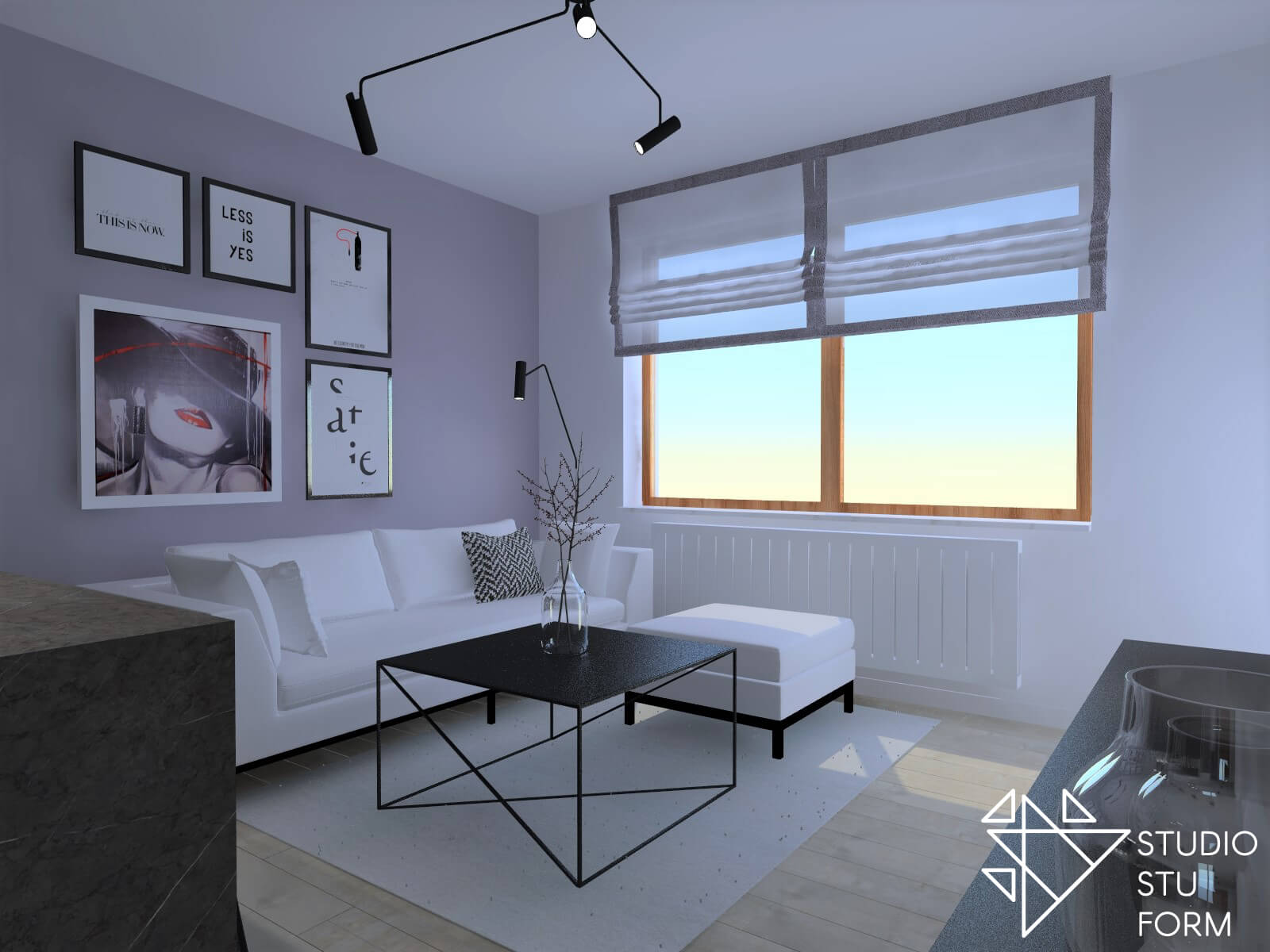 Projekt mieszkania Gliwice