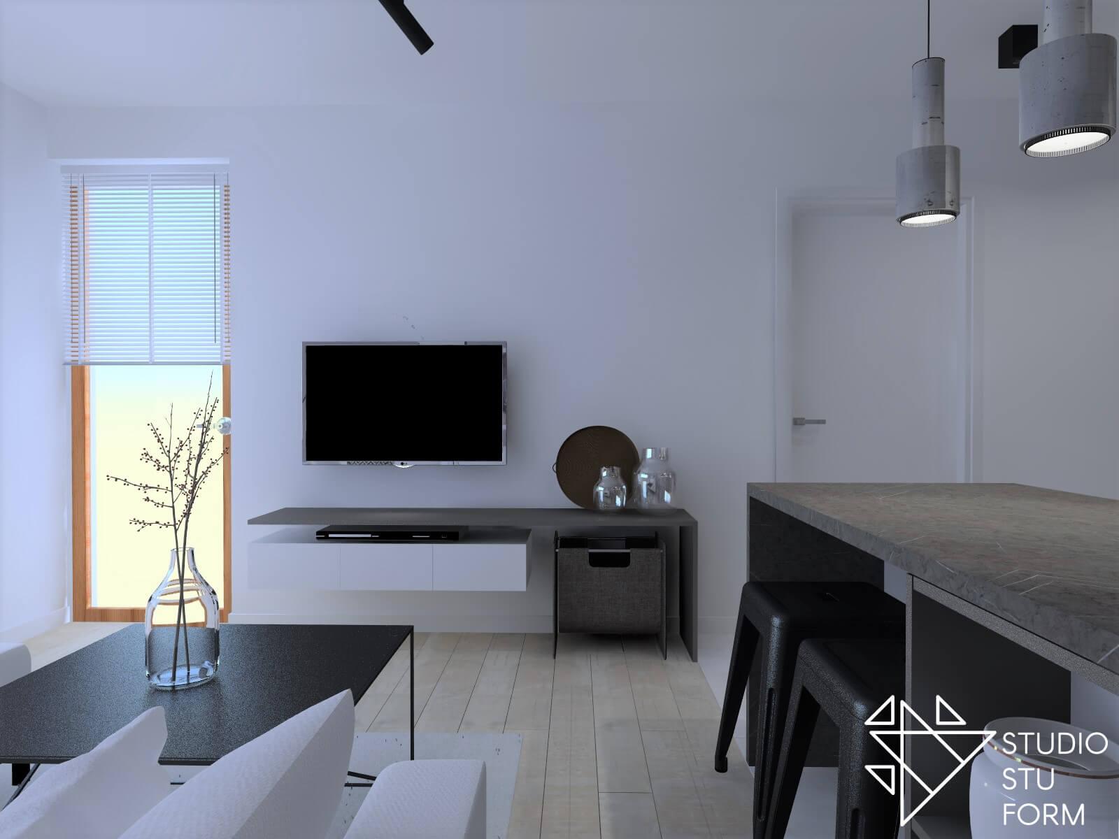 Projekt salonu Gliwice